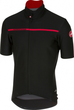 Castelli Gabba 3 korte mouw shirt zwart heren