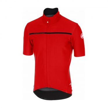 Castelli Gabba 3 korte mouw shirt rood heren