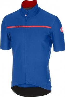 Castelli Gabba 3 korte mouw shirt blauw heren
