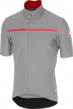 Castelli Gabba 3 korte mouw shirt grijs heren