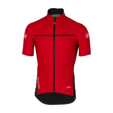 Castelli Perfetto light 2 korte mouw shirt rood heren