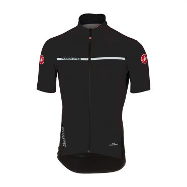 Castelli Perfetto light 2 korte mouw jacket licht zwart heren