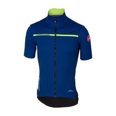Castelli Perfetto light 2 korte mouw jacket ceramic blauw heren