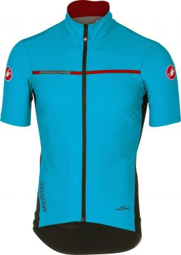 Castelli Perfetto light 2 korte mouw jacket sky blauw heren