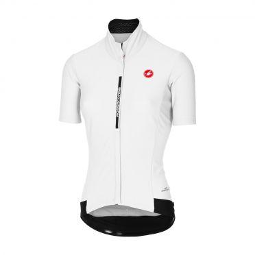 Castelli Gabba 3 W korte mouw jacket wit dames