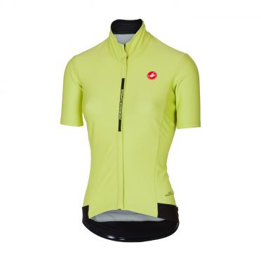 Castelli Gabba 3 W korte mouw jacket lime dames