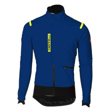 Castelli Alpha RoS jacket blauw/zwart heren