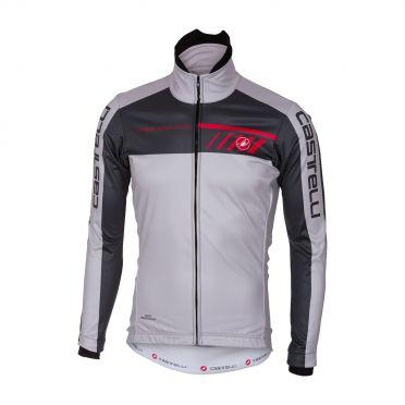 Castelli Velocissimo 2 jacket grijs/antraciet heren