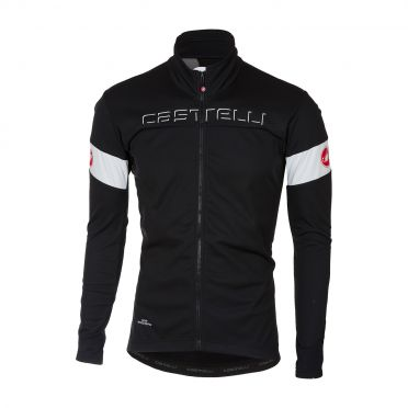 Castelli Transition jacket zwart/wit heren