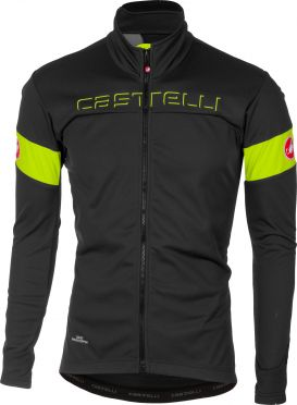Castelli Transition jacket grijs/geel heren