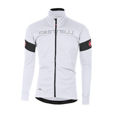 Castelli Transition jacket wit/zwart heren