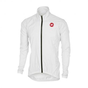 Castelli Squadra jacket regenjack wit heren