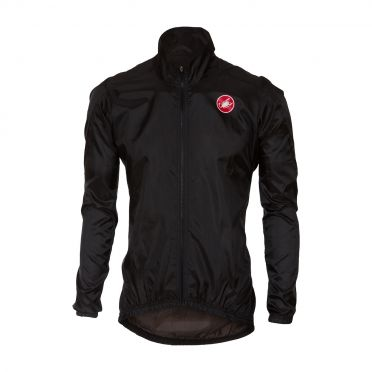 Castelli Squadra jacket regenjack zwart heren