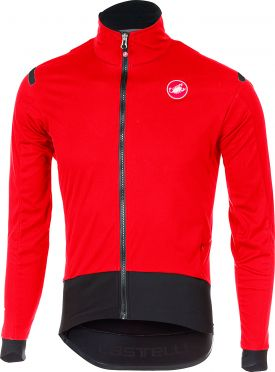Castelli Alpha ros light jacket rood/zwart heren
