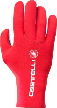 Castelli Diluvio c glove fietshandschoenen rood heren