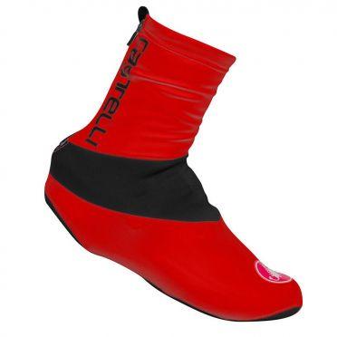 Castelli Evo overschoen rood heren