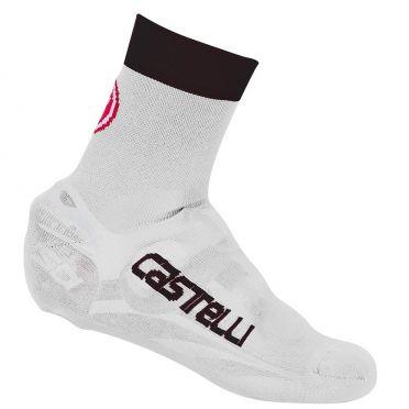 Castelli Belgian bootie 5 overschoen wit/zwart heren