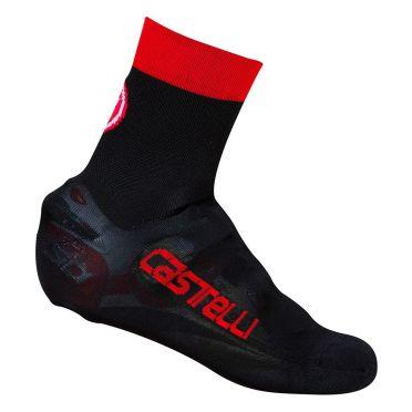 Castelli Belgian bootie 5 overschoen zwart/rood heren