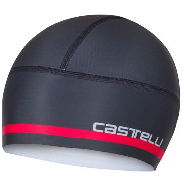 Castelli Arrivo 2 thermo skully helmmuts antraciet heren