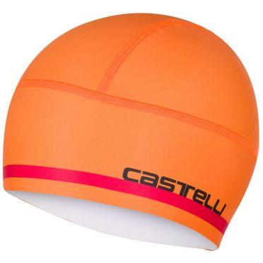 Castelli Arrivo 2 thermo skully helmmuts oranje heren