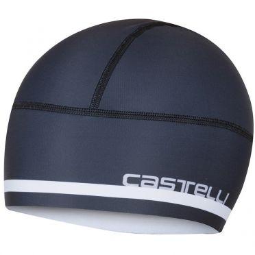 Castelli Arrivo 2 thermo skully helmmuts zwart heren
