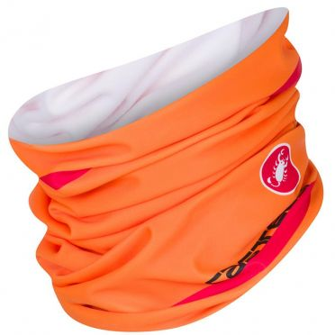 Castelli Arrivo 2 thermo head thingy oranje heren