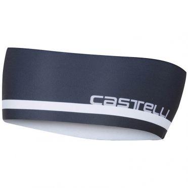 Castelli Arrivo 2 thermo hoofdband zwart heren