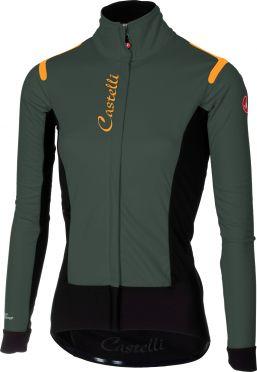 Castelli Alpha RoS W jacket forest grijs/zwart dames