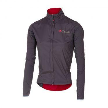 Castelli Sempre W jacket antraciet dames