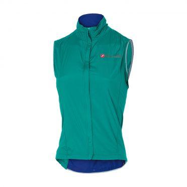 Castelli Sempre W vest turquoise dames