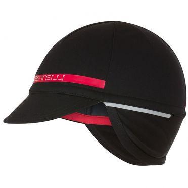 Castelli Difesa 2 cap helmmuts zwart/rood