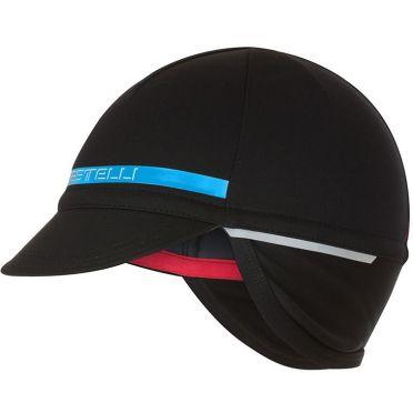 Castelli Difesa 2 cap helmmuts zwart/blauw