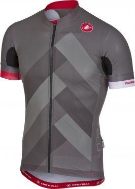 Castelli Free ar 4.1 fietsshirt forest grijs heren