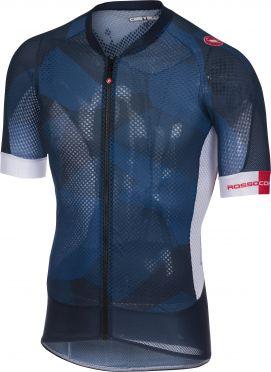Castelli Climber's 2.0 fietsshirt donker blauw/wit heren