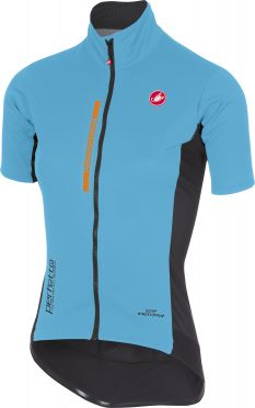 Castelli Perfetto light W korte mouw jacket blauw dames