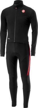 Castelli Sanremo 3 thermosuit zwart/rood heren
