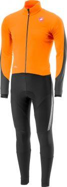 Castelli Sanremo 3 thermosuit oranje/zwart heren
