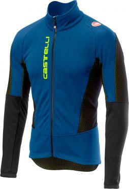 Castelli Mortirolo V jacket blauw/zwart heren