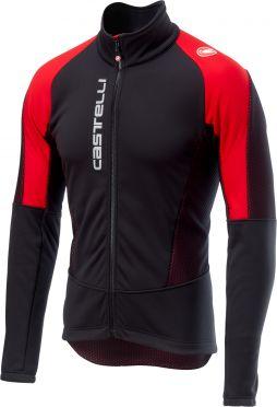 Castelli Mortirolo V jacket zwart/rood heren