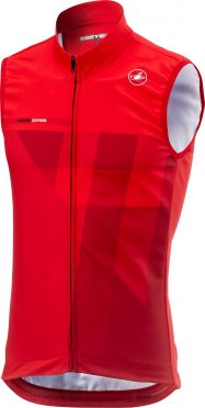 Castelli Thermal pro mouwloos vest rood heren