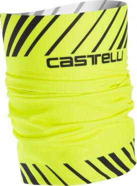 Castelli Arrivo 3 thermo head thingy geel fluo heren