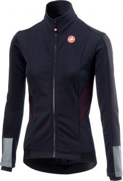Castelli Mortirolo 3 W lange mouw jacket zwart dames