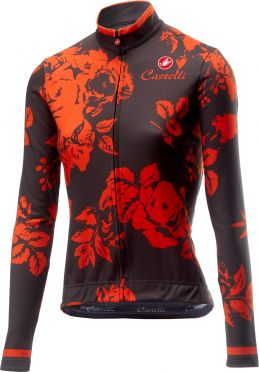 Castelli Scambio fietsshirt lange mouw forest grijs dames