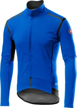 Castelli Perfetto RoS Convertible jacket blauw heren