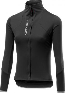 Castelli Trasparente 4 lange mouw fietsshirt zwart dames