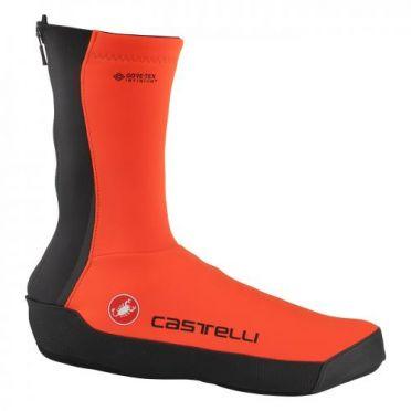 Castelli Intenso UL overschoenen oranje heren