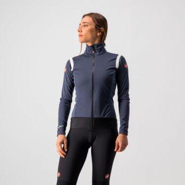 Castelli Alpha RoS 2 light fietsjack donkerblauw dames