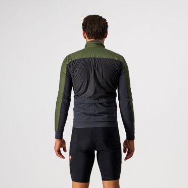 Castelli Unlimited Puffy lange mouw fietsjack groen heren