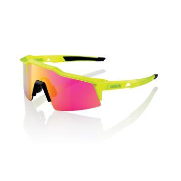 100% Speedcraft fietsbril acidulous met SL mirror lens