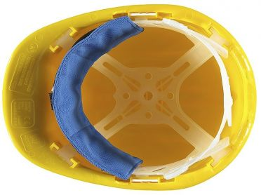 TechNiche Hyperkewl voorhoofdkoeler veiligheidshelm blauw